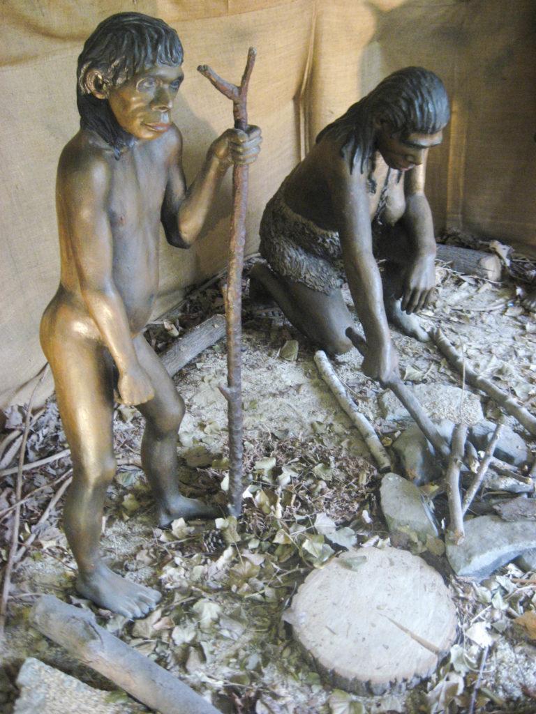 Neandertal autour du feu
