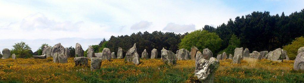 Les alignements de menhirs du site de Carnac